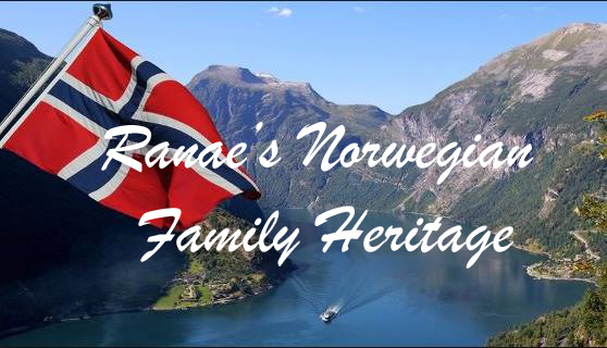 Click ▼ to view my Maternal NORWEGIAN HERITAGE