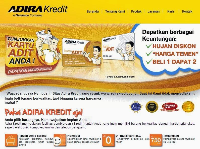 Lowongan Kerja di PT Adira Quantum Multifinance (Adira Kredit) Gedung Plaza Kuningan Menara Utara Jakarta