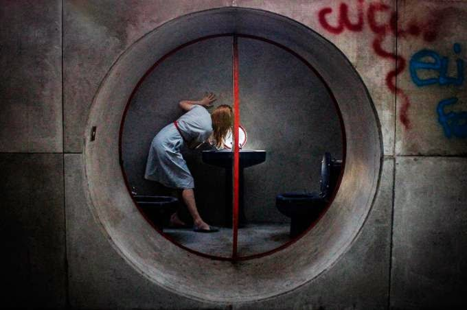 CIOB, The Art of Building 2014, Giuseppe Perugini Bathroom, by Lisa Shalom