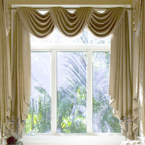 inside house windows with curtains curtains and draperies in home