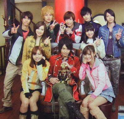 Goseiger and Gokaiger