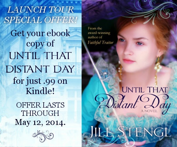 http://www.amazon.com/Until-That-Distant-Jill-Stengl-ebook/dp/B00JK5ADSA/ref=sr_1_1?ie=UTF8&qid=1397042379&sr=8-1&keywords=Until+That+Distant+Day