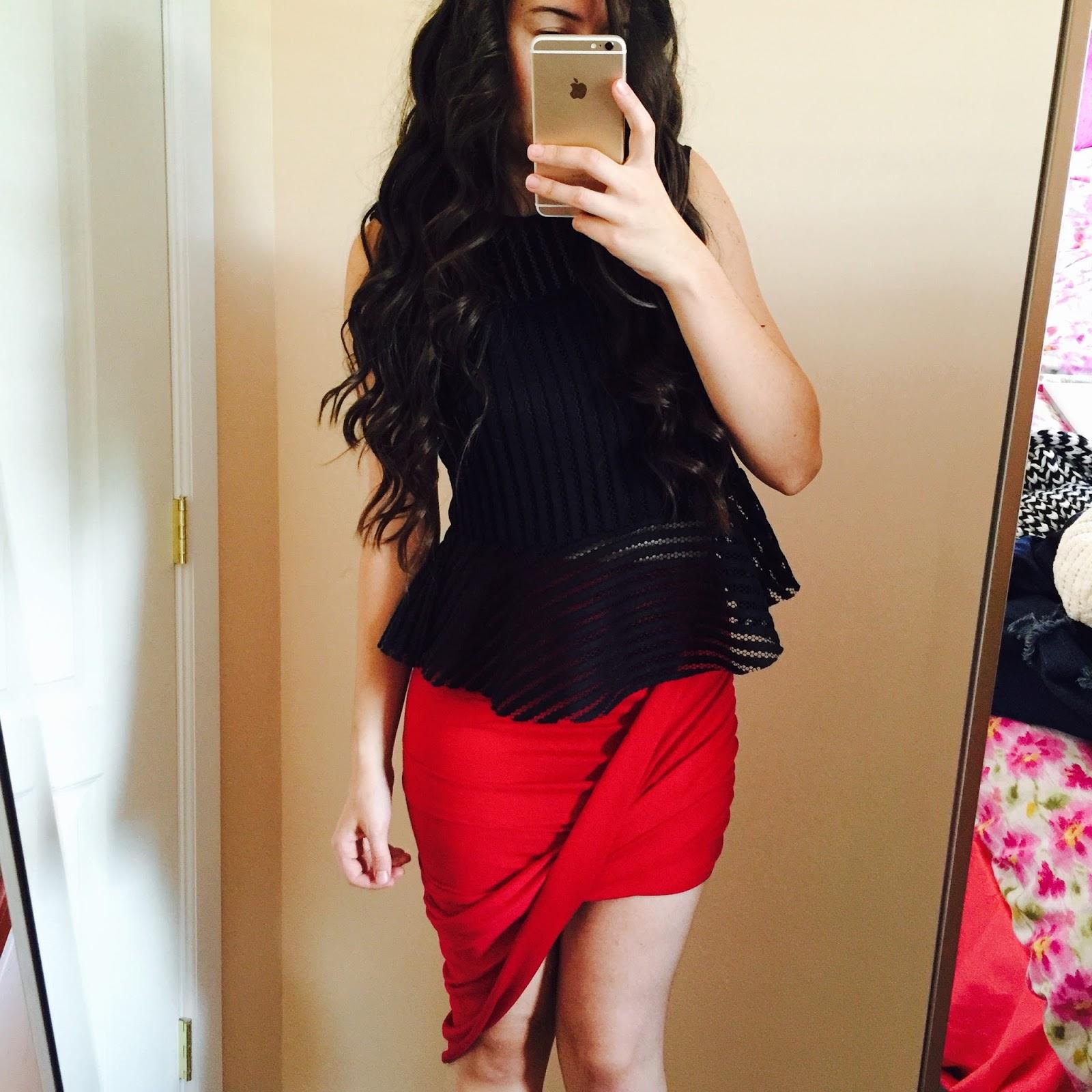 dresslink, Burgundy wrap skirt, how to style, 3 ways to wear a burgundy skirt, pretty burgundy skirt, wrap skirt,
