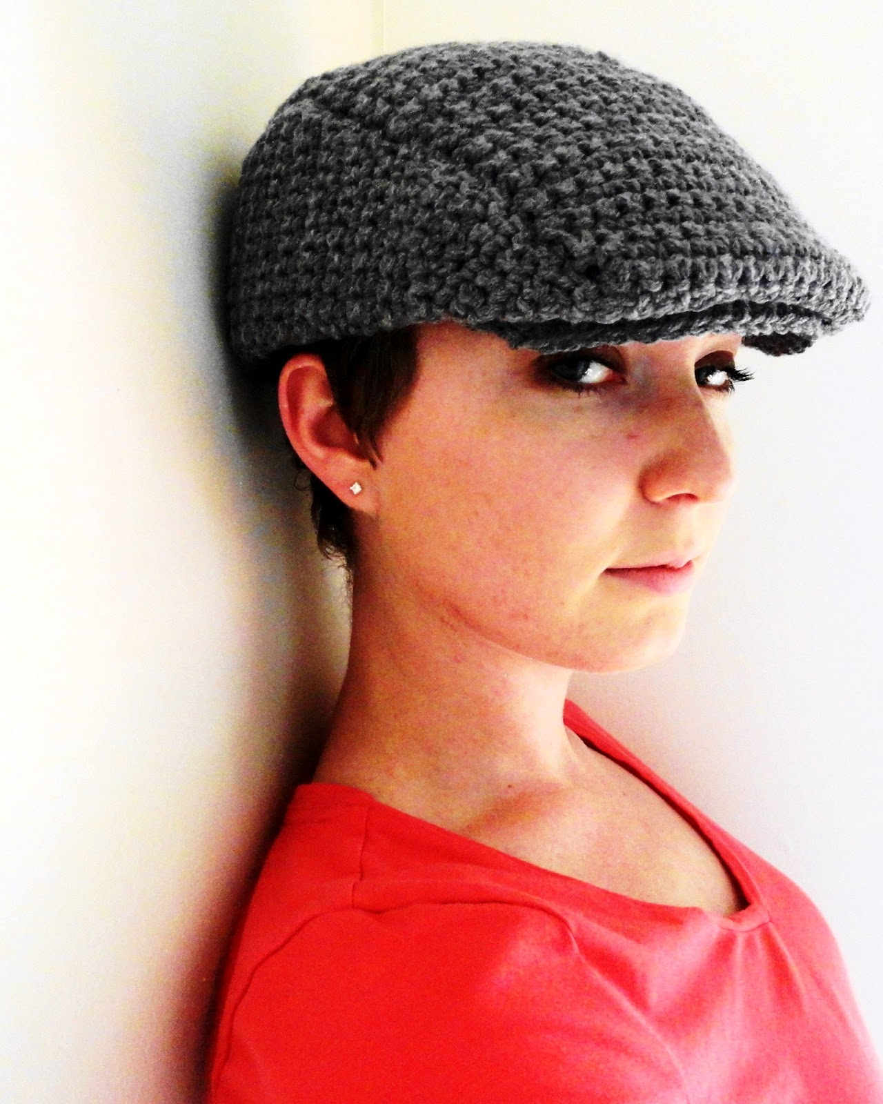 Crochet Pattern Golf Hat : Caitlinesque: Drivers Ivy Scally Flat (Revisited)