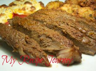 Easy Oven Smoked Steak