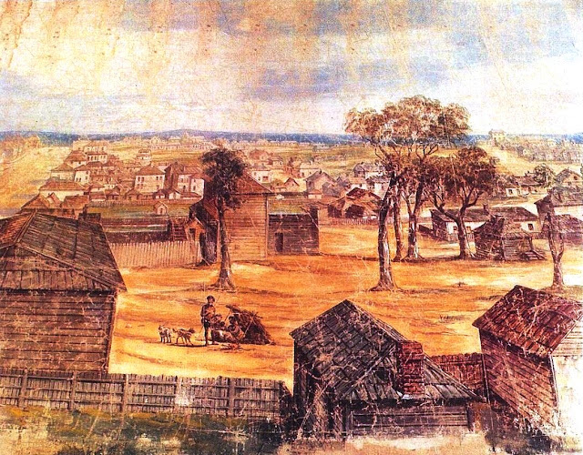 early Melbourne in the 1800's