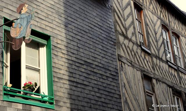 Honfleur - façades
