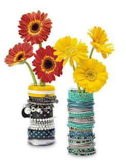 bracelet, vase, diy