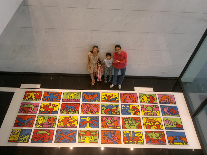 Family Photo with World's Largest Puzzle