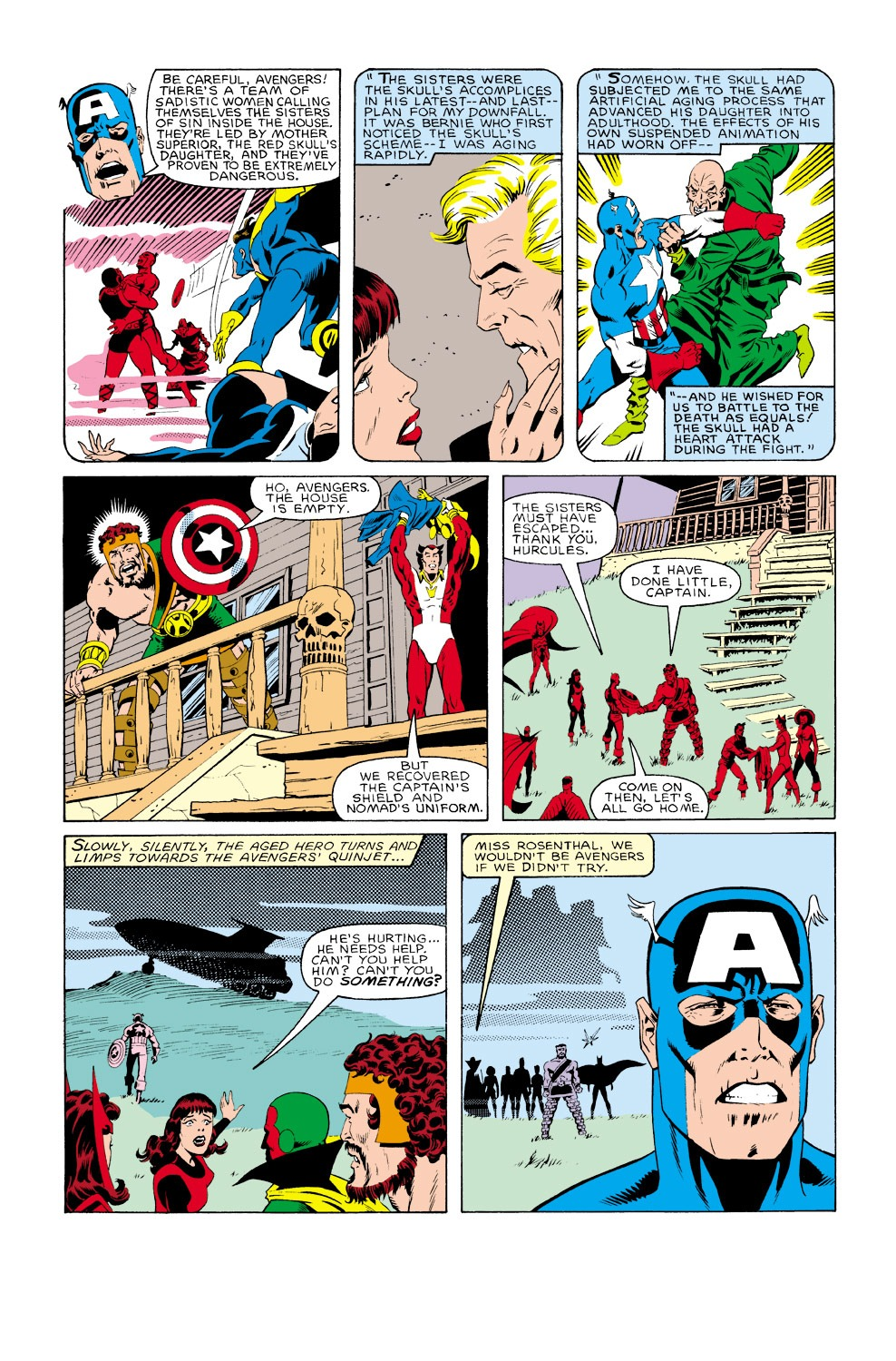 Captain America (1968) Issue #301 #229 - English 5