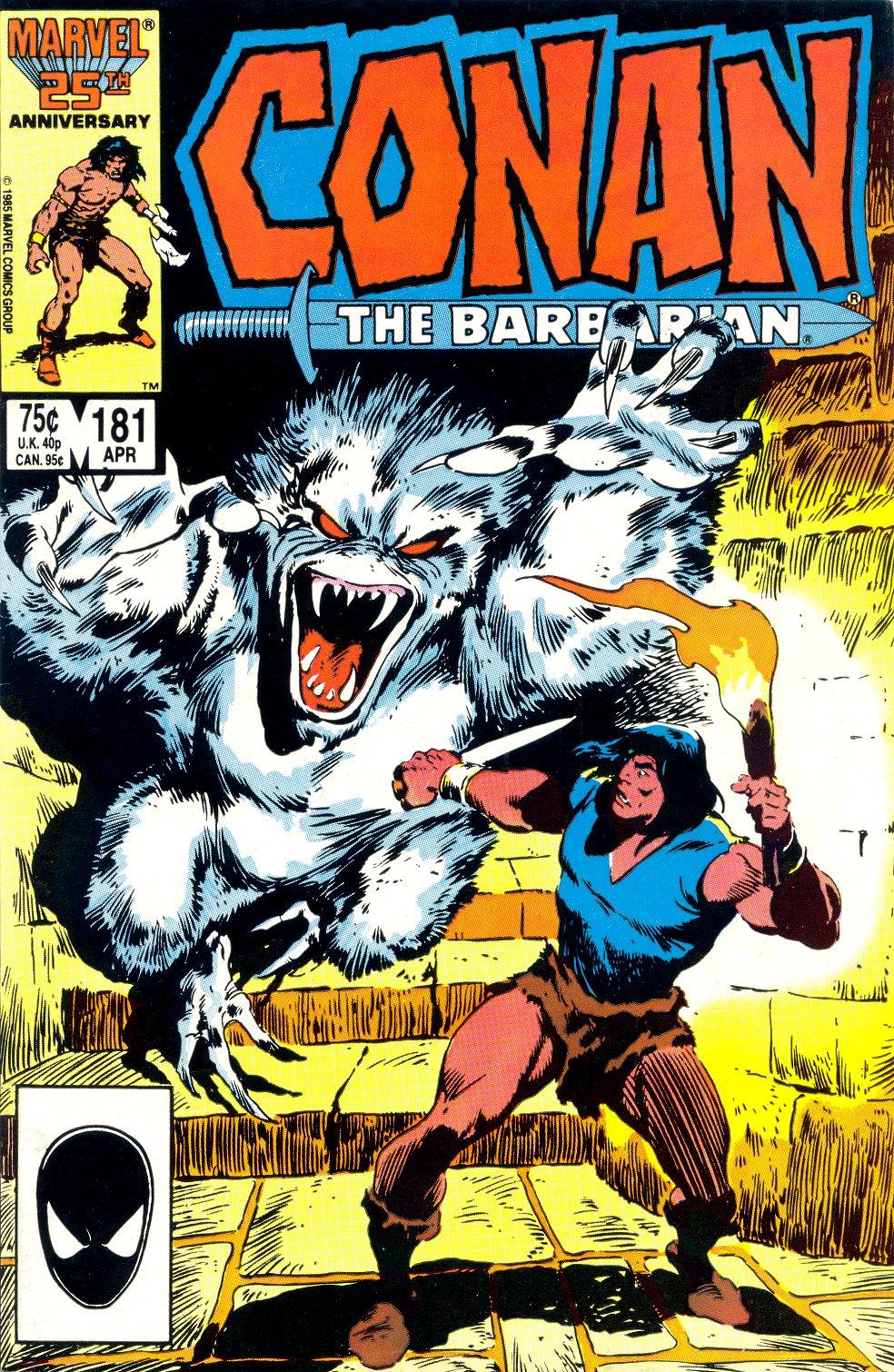Conan the Barbarian (1970) Issue #181 #193 - English 1