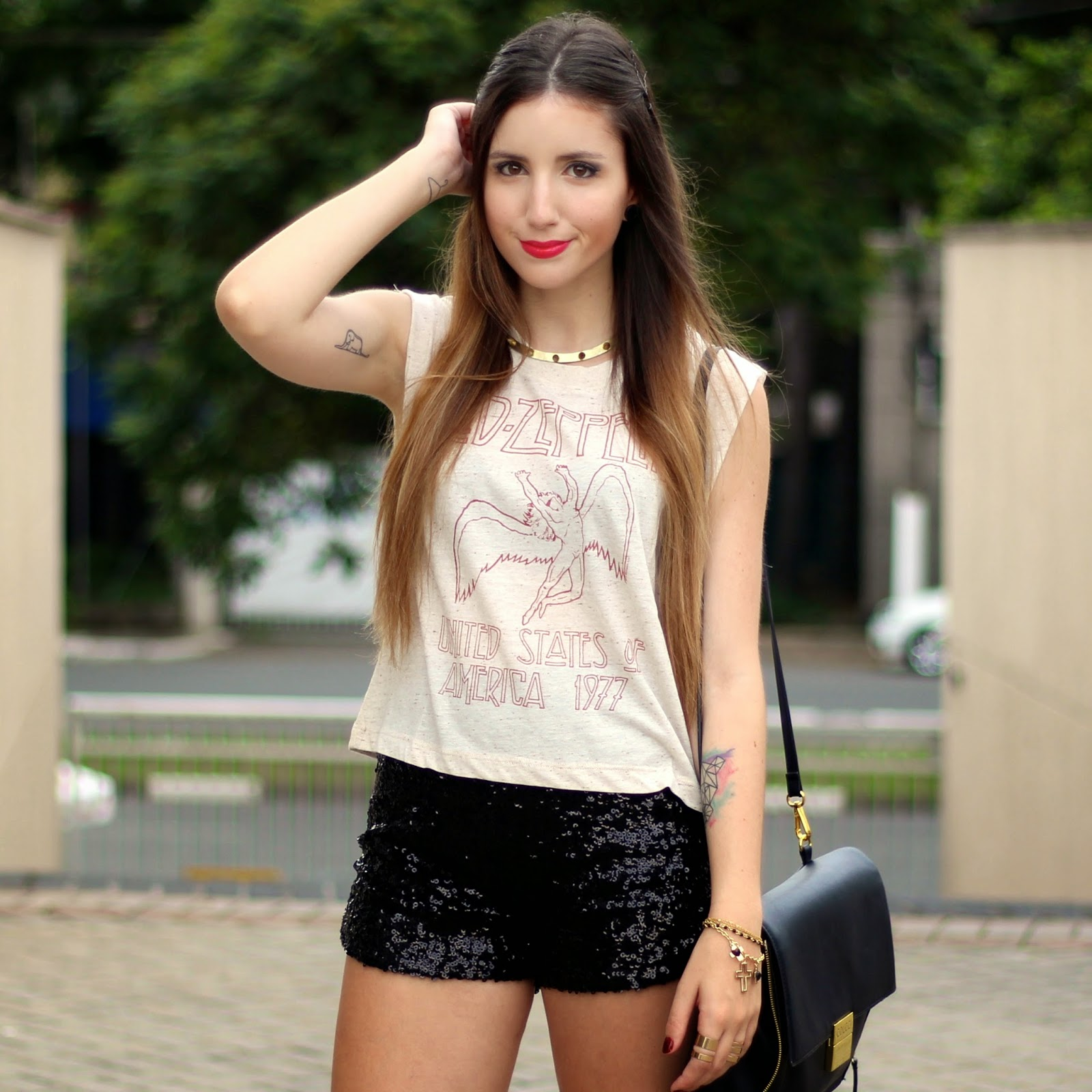 Look rocker glam