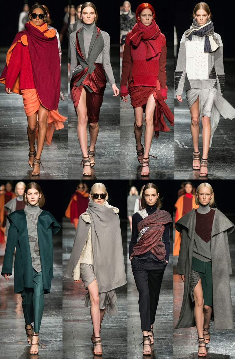 Prabal Gurung fall winter 2014 collection runway, NYFW, New York fashion week