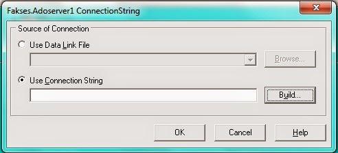описанное udl файлом, достаточно явно или через oledbconnectionstringbuilder задать свойство file name