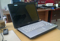 toshiba a205 laptop 1 jutaan