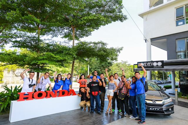 All New Honda City Bloggers Fun Drive
