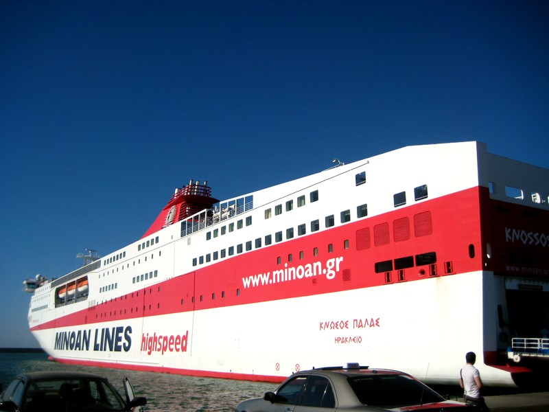 Putovanje na Krit brodom [foto i video reportaza]; Getting to Crete by ferry-boat (photo and video)