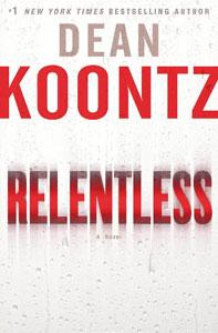 Portada original de Relentless, de Dean Koontz