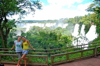 Our Friends Annelise & Noelia - Iguazu Falls, Argentina