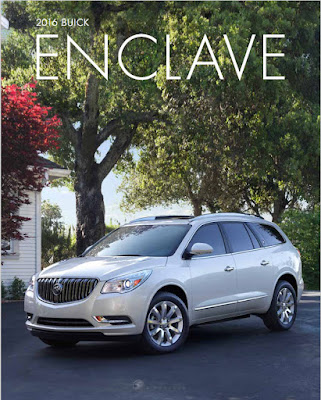 Downloadable 2016 Buick Enclave Brochure