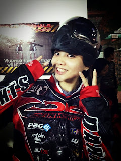 Joyce Yap paintball