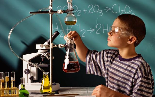 Ilustrasi Ilmu Kimia