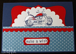 Stampin' Up! Motocycle