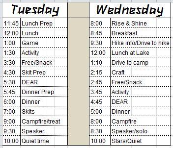 Carpool Schedule Template. printable schedule planner trials ...