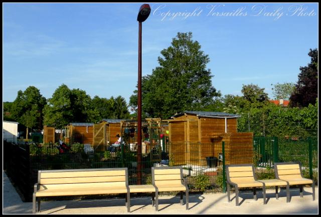 Versailles allotments Moser jardins familiaux