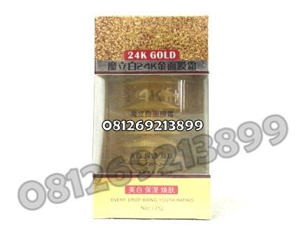 Masker Wajah 24K Gold