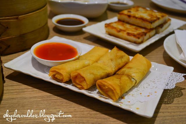 Spring Rolls - Crystal Jade Shanghai Delight Weekday Dimsum Buffet