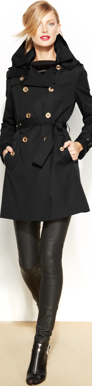 Michael Kors Removable Liner Trench coat