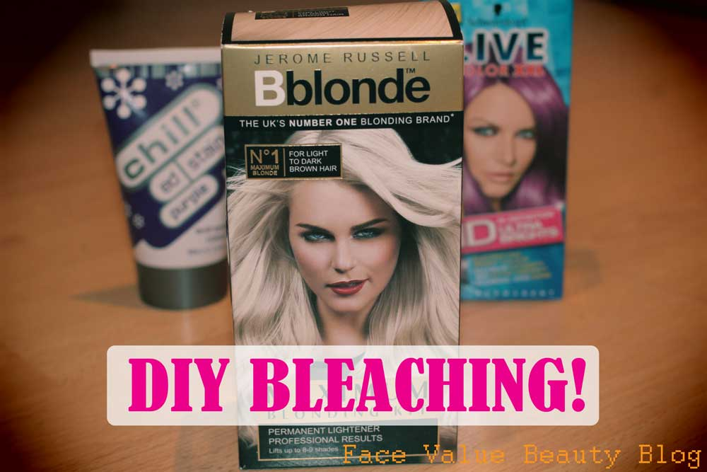 Home Hair Dye Adventure: It's BLEACHING Time.