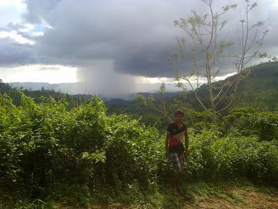 Tornado during trek