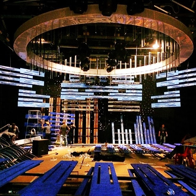 ABS-CBN ASAP 19 new set design