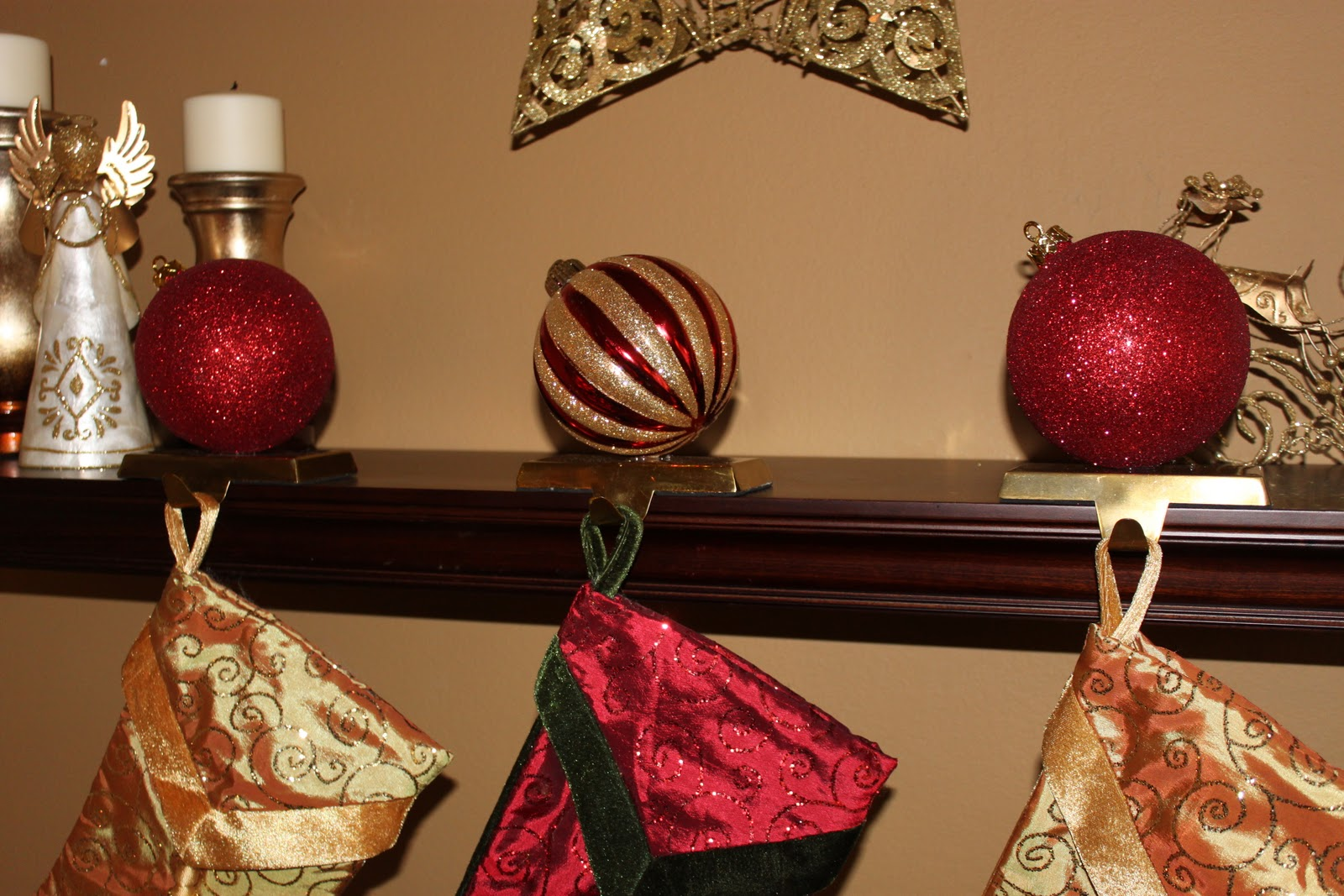 The Smitten Mintons Diy Stocking Holders