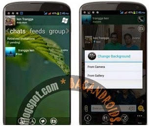FREE BBM MOD WP v2.6.0.30 Change Background