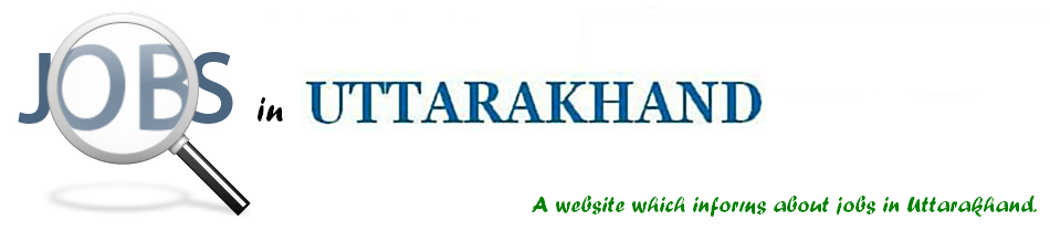 Jobs in Uttarakhand