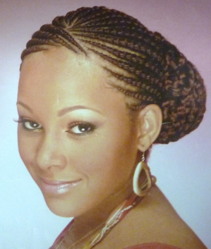 Protective styles for relaxed hair | Relaxed Hair Care Guyana