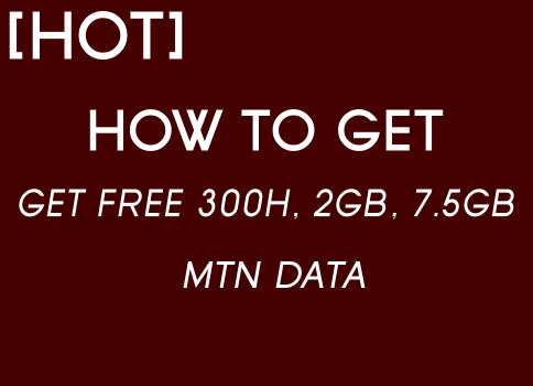 Get Free 15GB MTN Data
