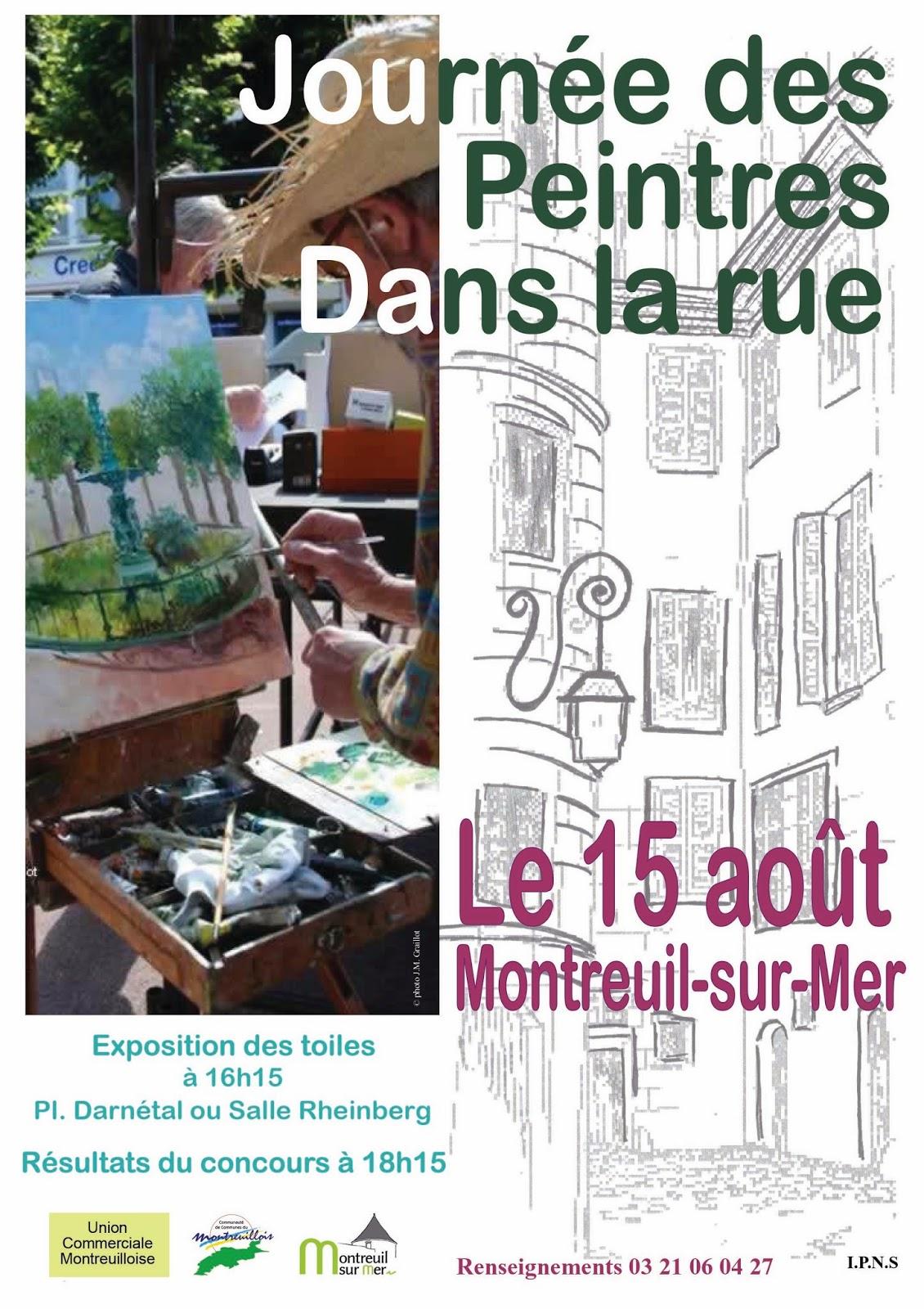 Rencontres artistiques en montreuillois journ e des peintres - Office tourisme montreuil sur mer ...
