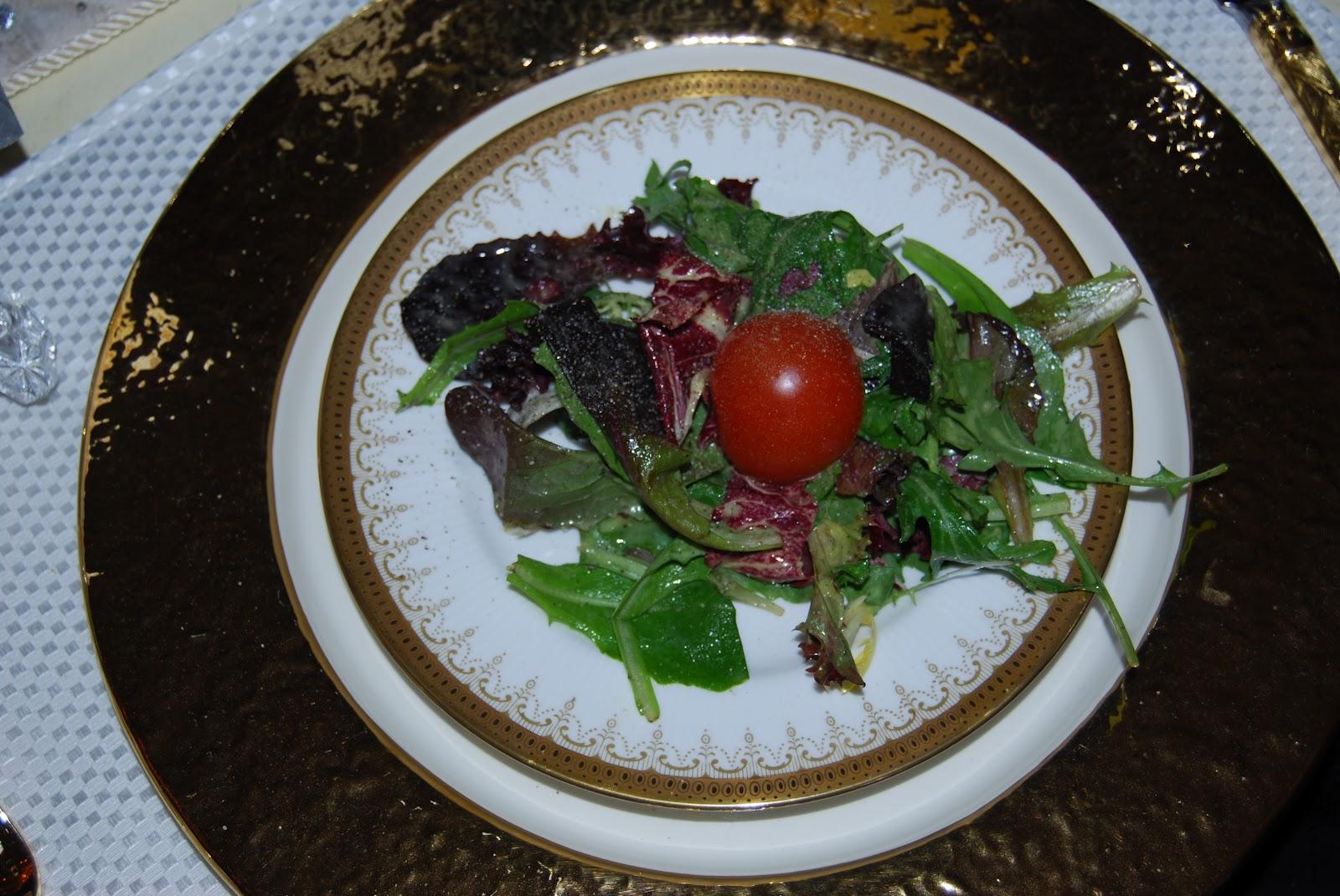 8 Plates Gabriella 39 S Green Salad W Vinaigrette