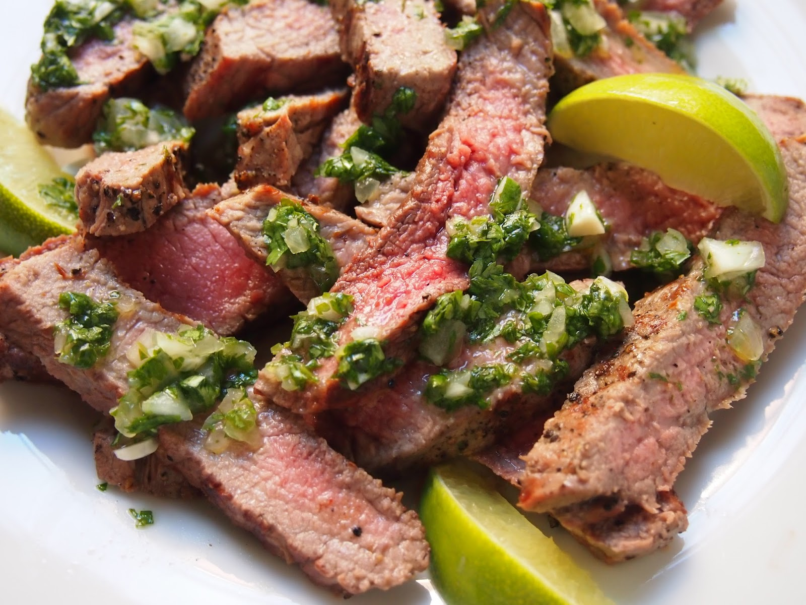 Cooking with Kale: Grilled Steak & Chimichurri