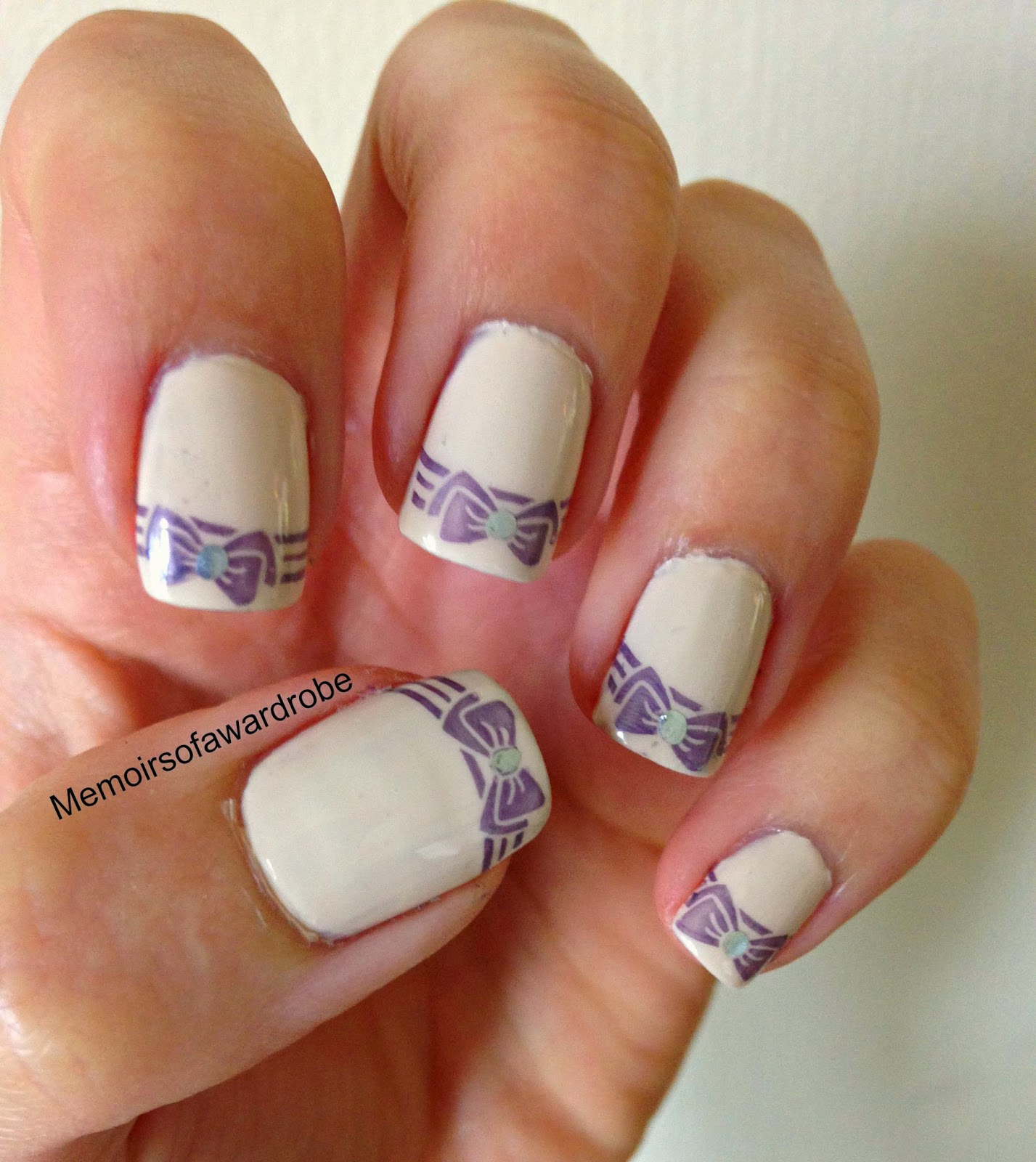 konad print nails