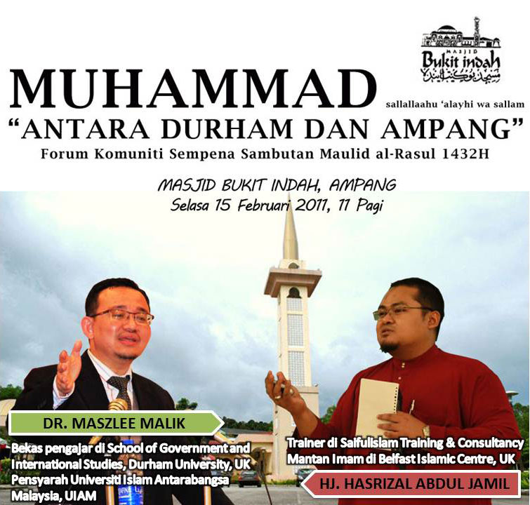 www.mymaktabaty.com Forum Muhammad SAW: Antara Durham dan Ampang