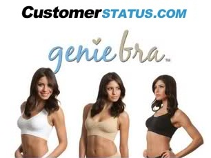 Check Genie Bra Delivery Status on customerstatus.com