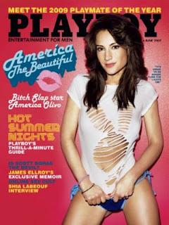 America Olivo, Playboy magazine