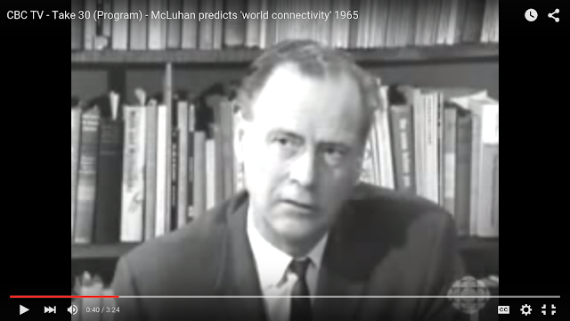 Marshall McLuhan, Take Thirty, CBC Television, 1965