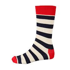 stripy socks