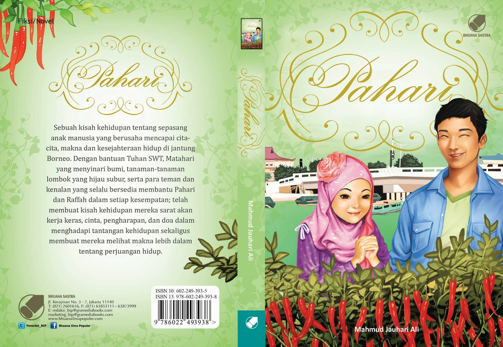 Judul: Pahari (Novel)